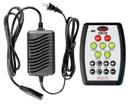20-function remote and Premium Charger