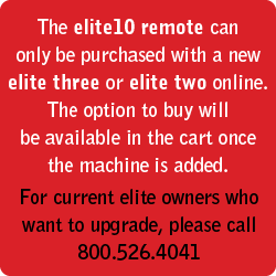 elite10 remote for Apple<sup>®</sup>